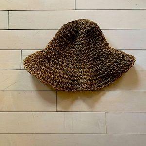 Floppy straw handmade sun hat purchased in France